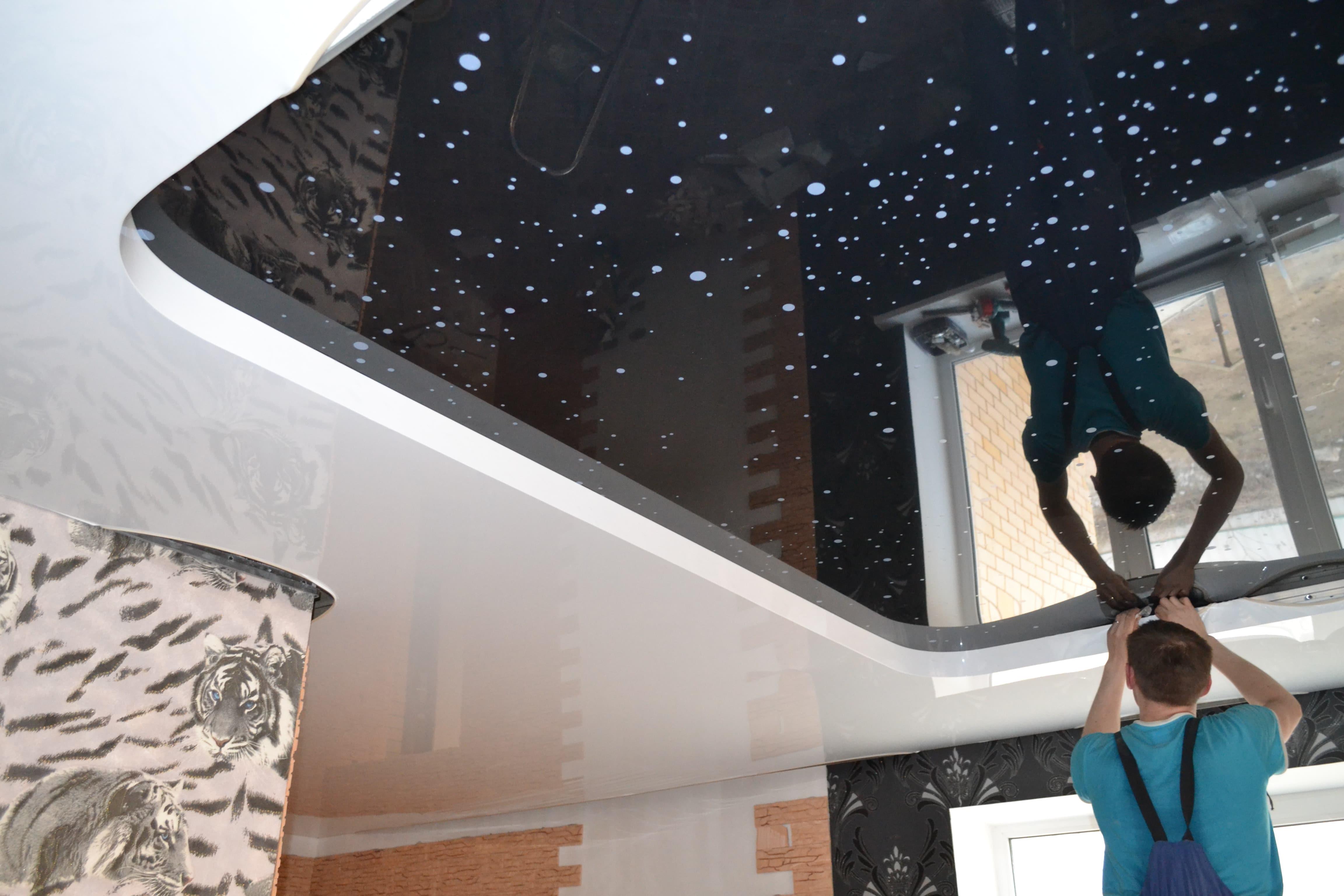 Как сделать идеально ровным потолок